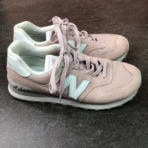 New Balance Womens 574 Faded Cedar Size 7